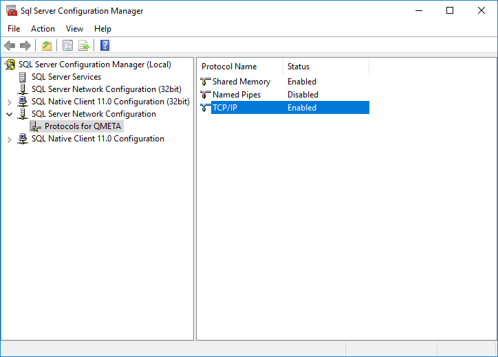 Configuration manager